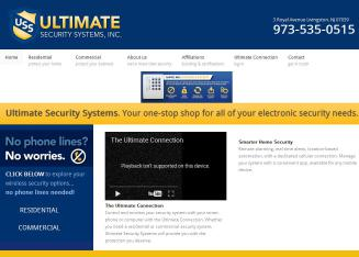 Ultimate+Security+Systems Website
