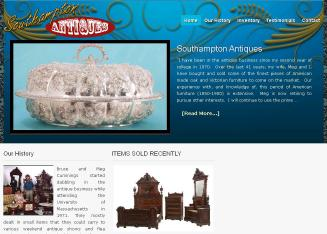 Southampton+Antiques Website
