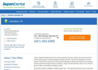 Aspen+Dental%3A+It%27s+Time+to+Smile Website