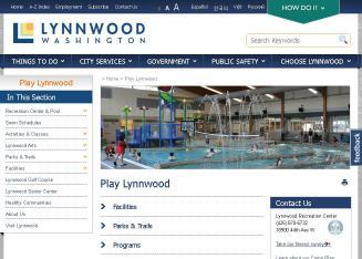 City Of Lynnwood Pool Wa