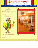 Pollos+Mario+Restaurant Website