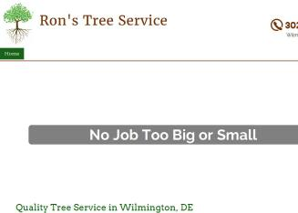 Ron%27s+Tree+Service Website