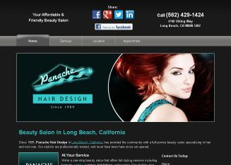 Panache+Hair+Design Website