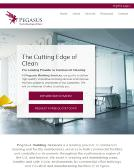 Pegasus+Building+Services Website