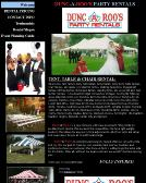 Dunc-A-Roo%27s+Party+Rentals Website