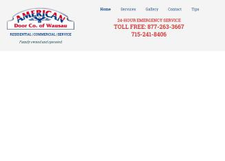 American+Door+Co+Inc. Website