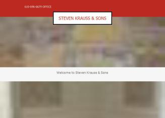 Steven+Krauss+%26+Sons Website