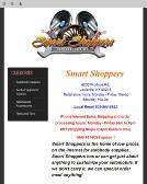 Smart+Shoppers Website