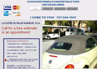 A Discount Mobile Convertible Tops & Headliners