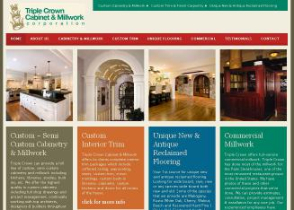 Triple+Crown+Cabinets+%26+Millwork Website