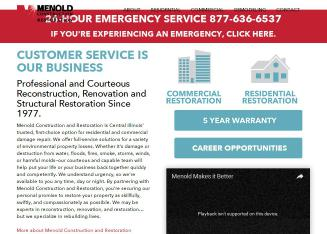 Menold+Construction+%26+Restoration Website