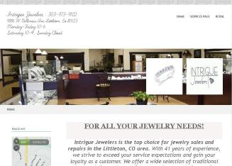Intrigue+Jewelers Website