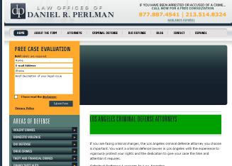 Law+Offices+of+Daniel+R.+Perlman Website