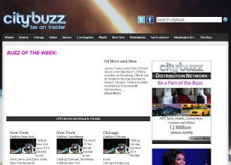 City+Buzz Website