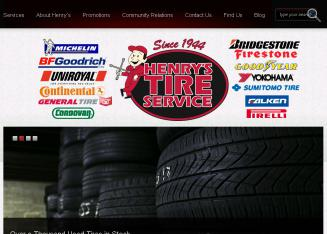 Henry%27s+Tire+Service Website