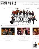 Maxwell+Street+Klezmer+Band Website