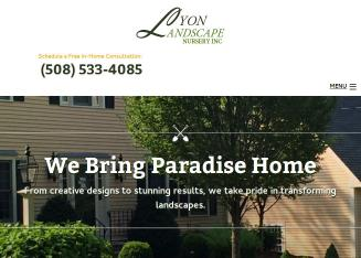 Lyon+Landscape+Nursery+Inc Website