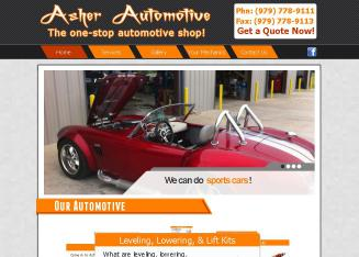 Asher+Automotive Website