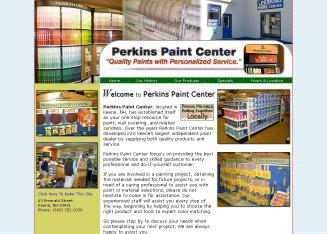 Perkins+Paint+Center Website