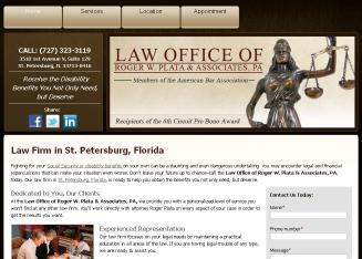 Law Offices Of Roger W Plata & Associates PA Inc