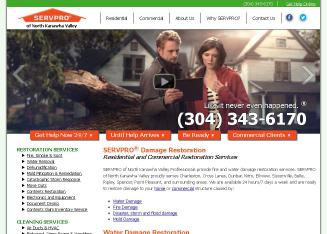 Servpro+Of+North+Kanawha+Valley Website