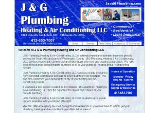 J & G Plumbing Heating and Air Conditioning LLC