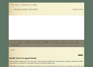 French+Vivian+DDS Website