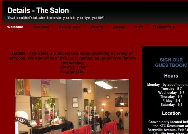 Details-the Salon