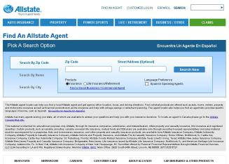 Allstate+Insurance+Company+-+Dallas+Agents Website