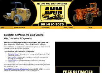 ANM+Construction Website