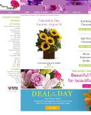 A+Anytime+Flowers Website