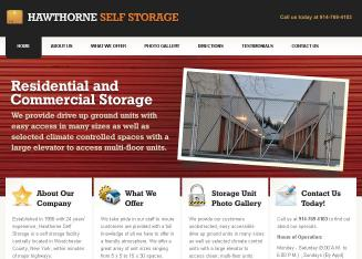 Hawthorne+Self+Storage Website