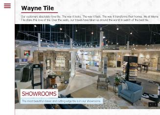 Wayne+Tile+Company Website