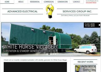 Advanced+Electrical+Service+Group Website