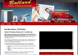 Ballard+Air+Conditioning+Heating+%26+Plumbing Website