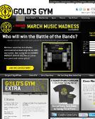 Gold%27s+GYM Website