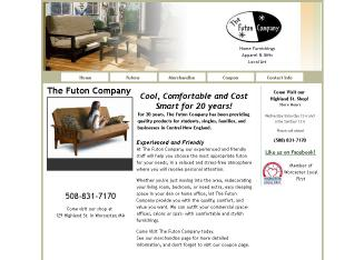 The+Futon+Company Website