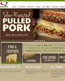 Quiznos Website