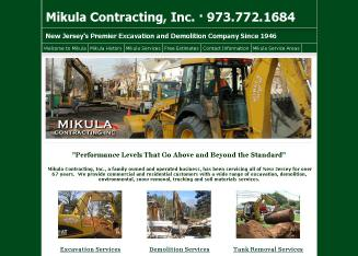 Mikula+Contracting+Inc Website