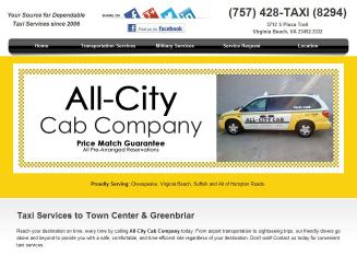 All-City+Cab+Co.%2C+Inc. Website