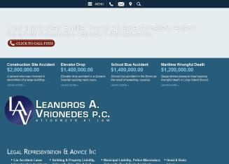 Leandros+A.+Vrionedes%2C+Attorney Website