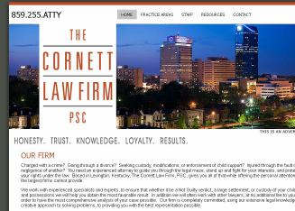 The+Cornett+Law+Firm%2C+PSC Website
