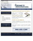 Grimes+Investigations Website