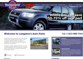 Langston's Used Auto Parts