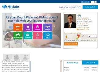 Allstate+Insurance+Company+-+Paul+Langston Website