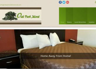 Oak+Park+Motel Website