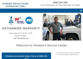 Hovland%27s+Tire+%26+Oil+Inc Website