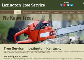Lexington+Tree+Service Website
