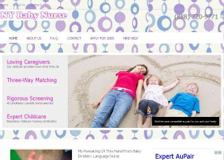 Lullaby+Baby+Nurse+Staffing Website