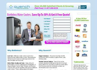 Quench+Water+Coolers Website